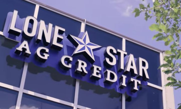 Lone Star Ag Credit Georgetown branch office sign.