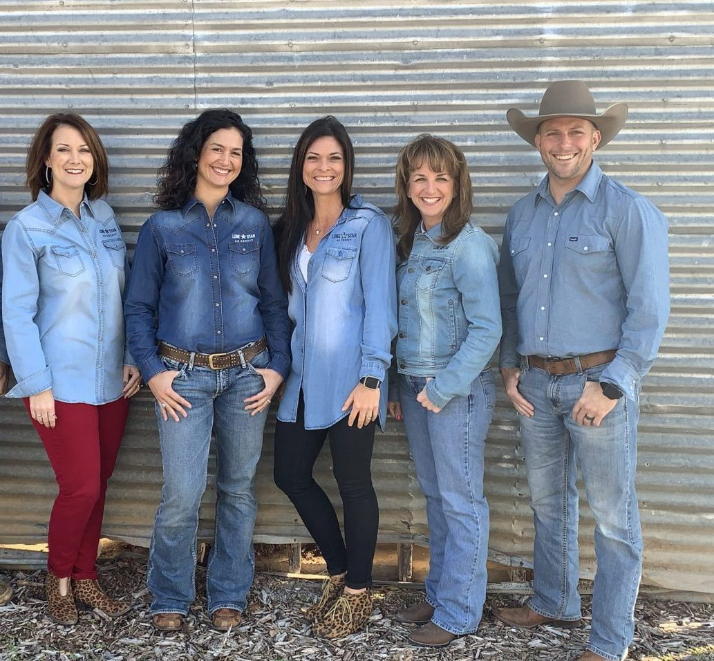 Lone Star Ag Credit Stephenville office staff.