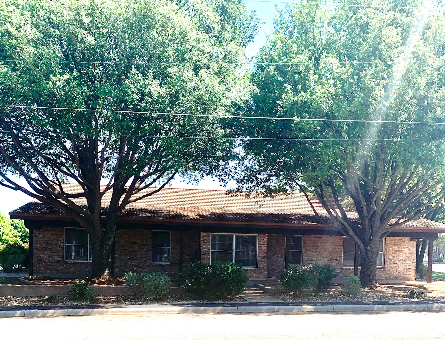 Front view of Lone Star Ag Credit branch office in Sweetwater, Texas.