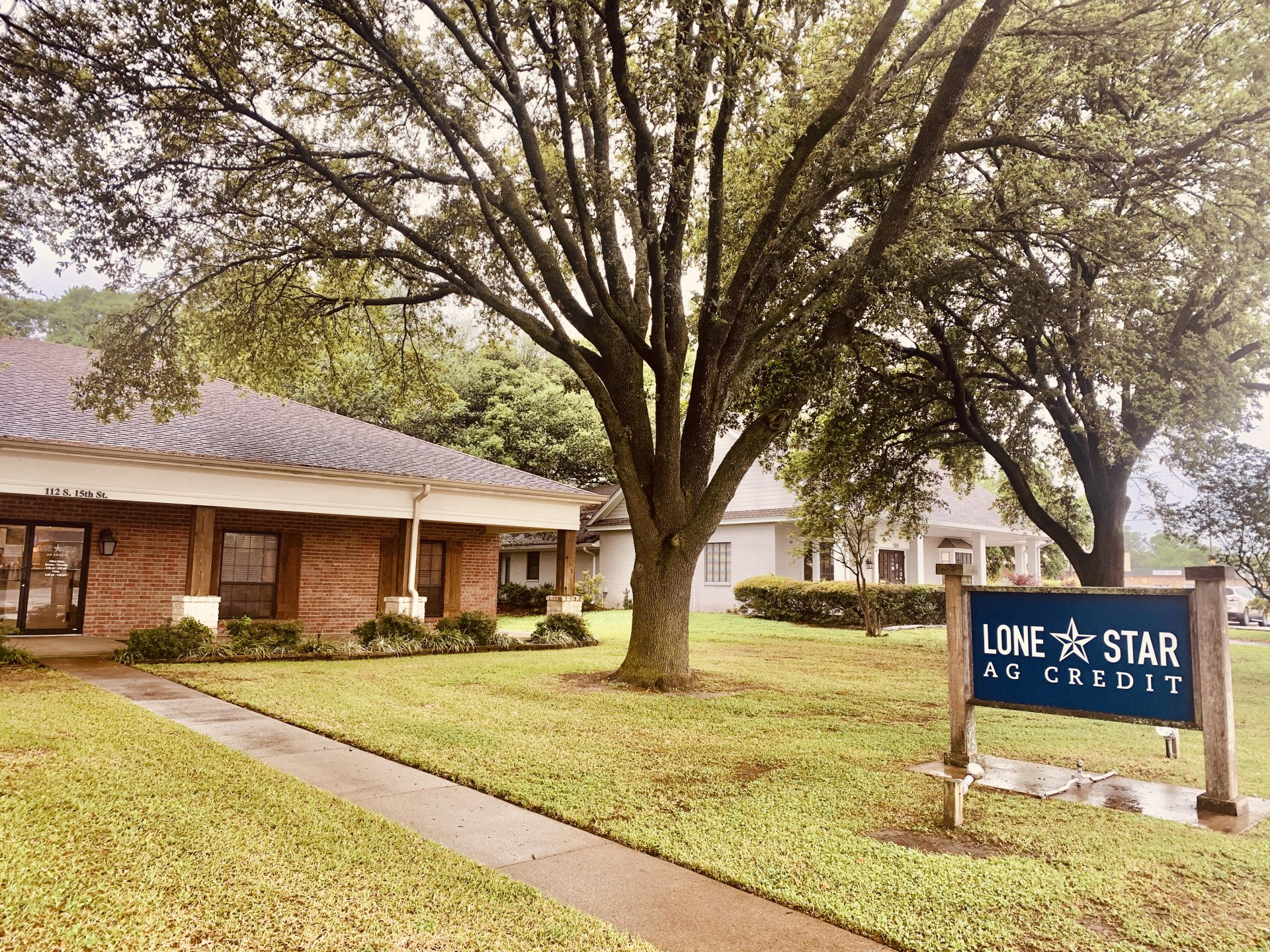 Lone Star Ag Credit Corsicana branch office.