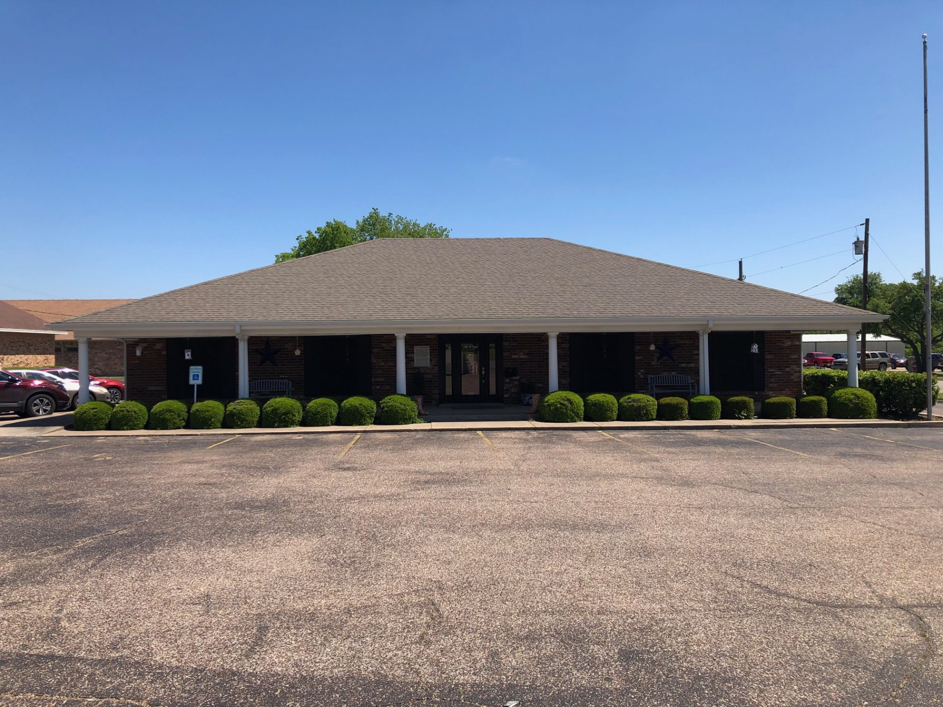Lone Star Ag Credit, Cleburne branch office building.