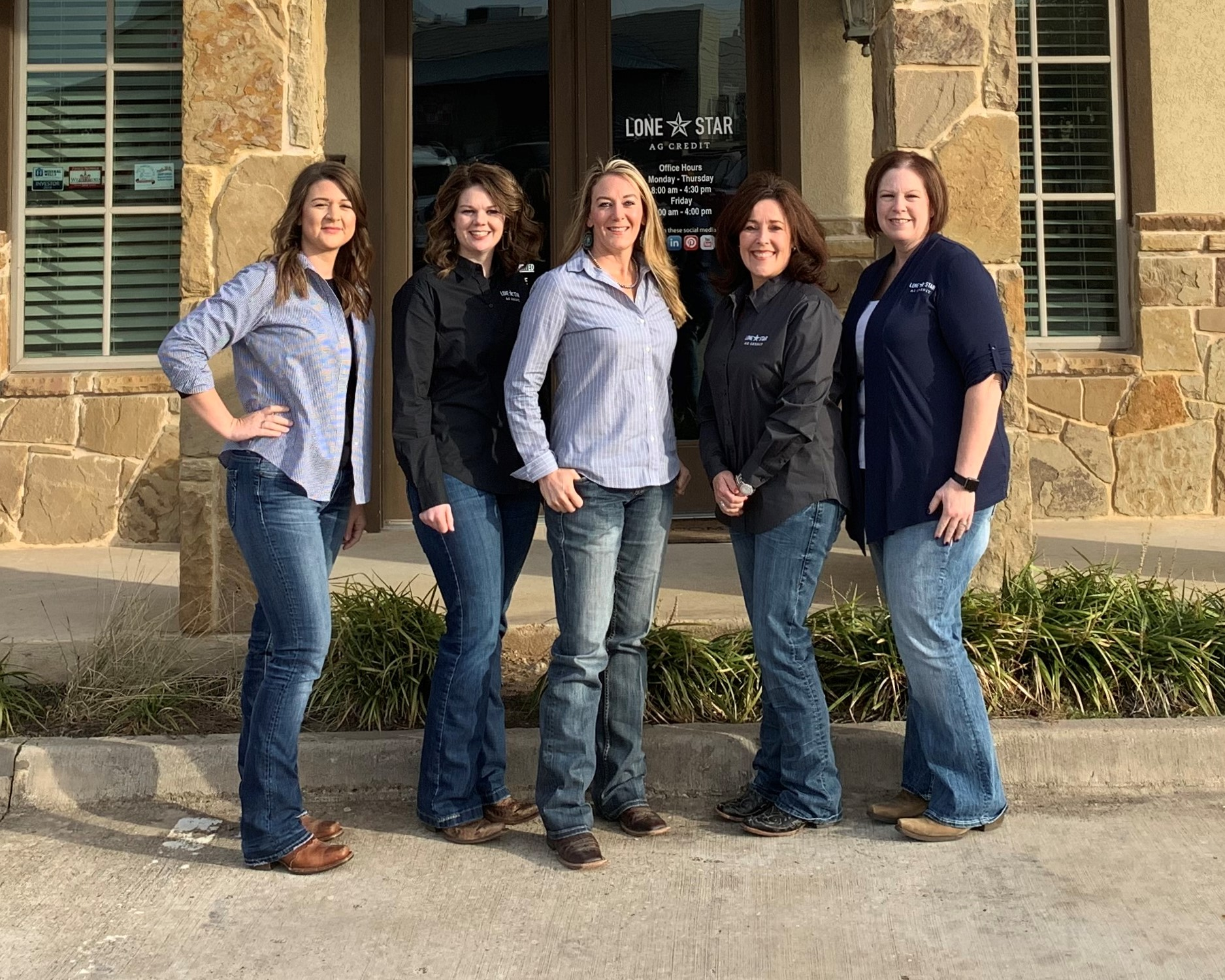 Weatherford2 branch staff