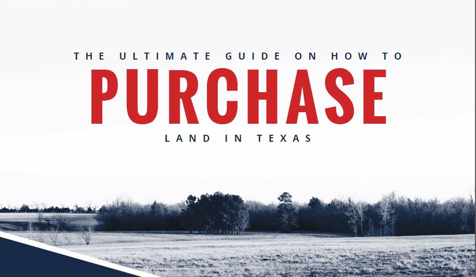 How to Purchase Land Graphic