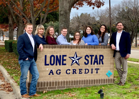 Lone Star Ag Credit, Denton Office, loan officers and staff.